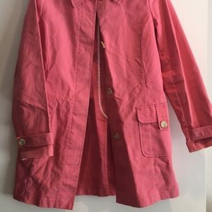 Old Navy Women's Pink Trench coat
